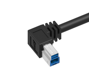 right angle usb plug