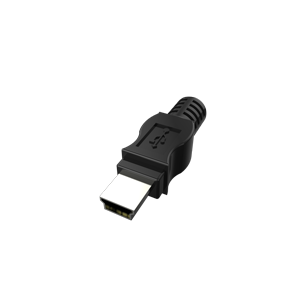 USB 2.0 Mini B Male (UH2-MB)