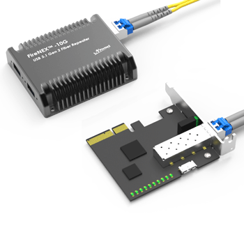 FireNEX™-10G with Optical Cables