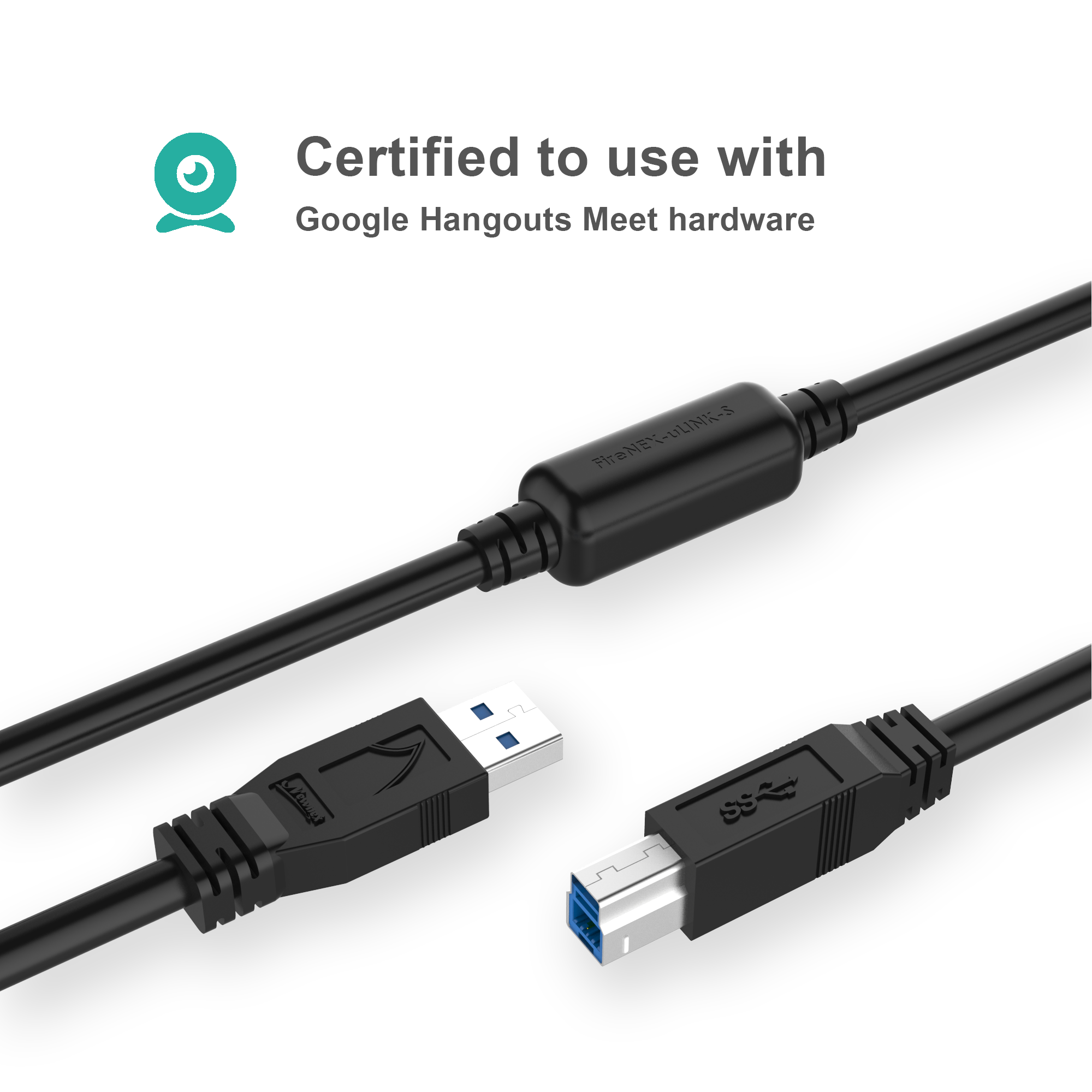 USB 3 Active A to B Cable