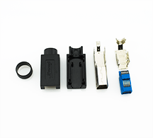 USB 3.0 Type B Assemblable DIY Connector Plug Kit