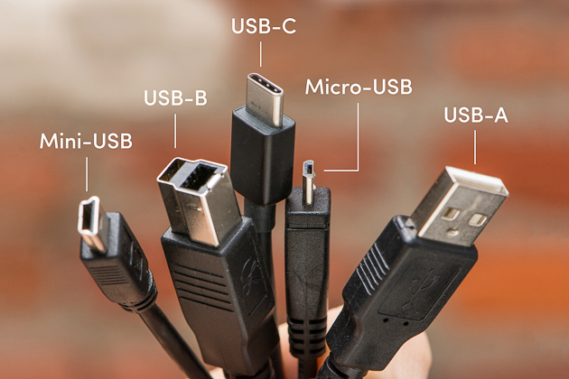Different Types of Connector grouped in an image